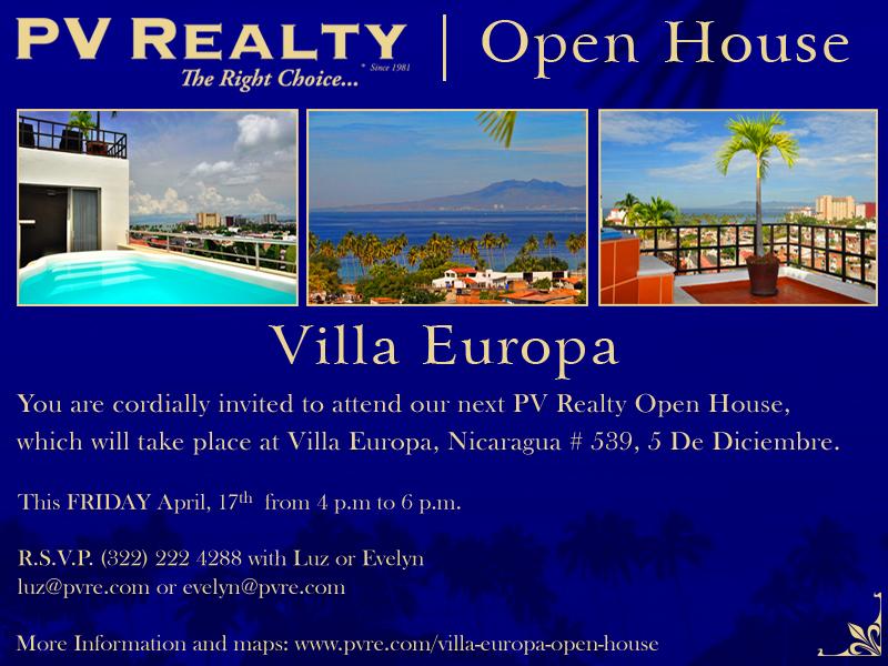 Puerto Vallarta Real Estate Villa Europa Open House Villa Europa Open House villa europa open house