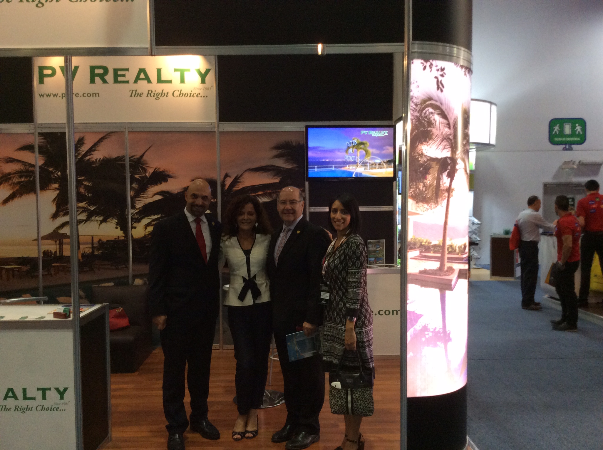 Expo SIME 2015  PV Realty, Trabajando para sus distinguidos clientes.  PV Realty  Working for its distinguished clients. IMG 2354